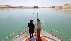 Dans quel pays se trouve le canal de Suez ?