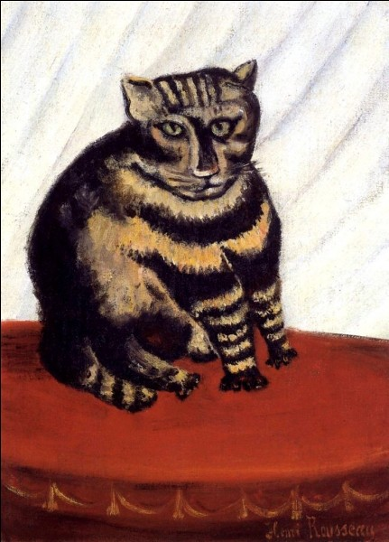 C'est un chat tigré. Mais qui l'a peint ?