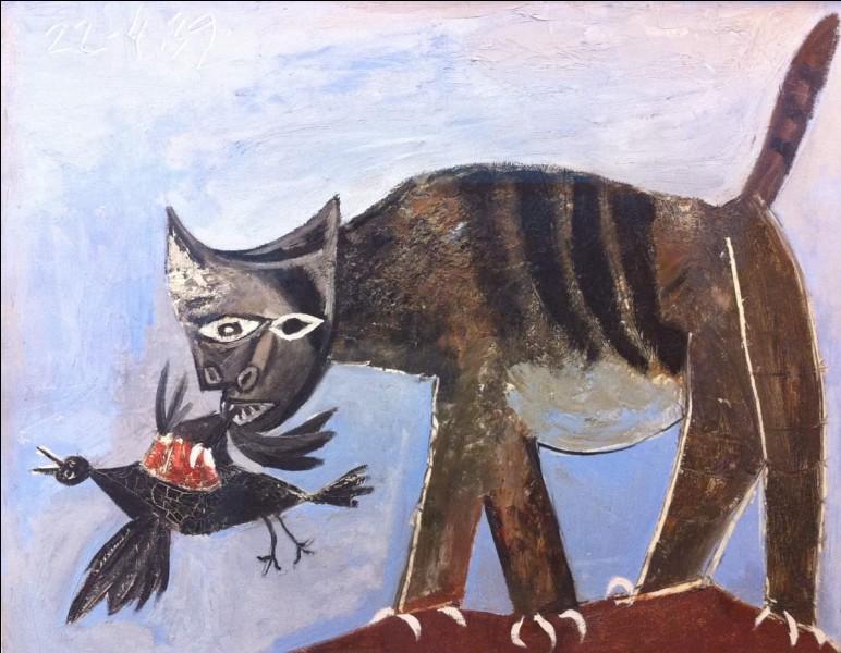 ''Le chat et l'oiseau'' est un tableau de...