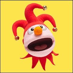 Cette marionnette est la mascotte de...