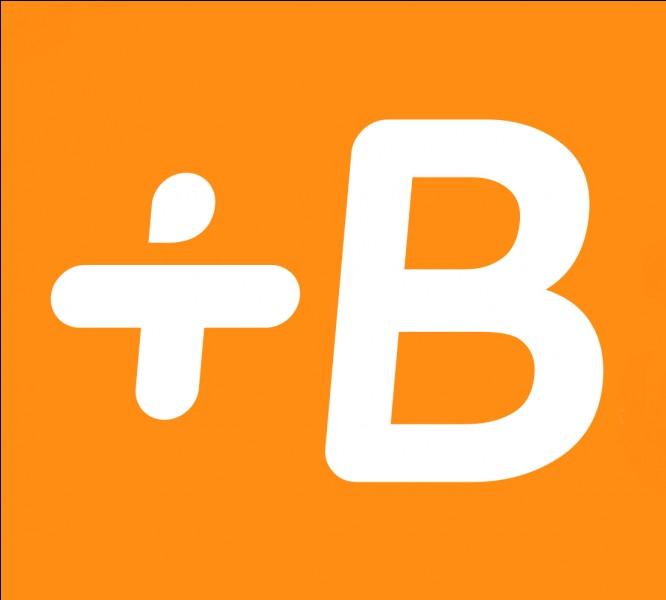 Ce logo est celui de l'application...