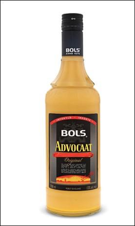 Quelle est l'origine de l'Advocaat, une liqueur à base de jaune d'oeuf ?
