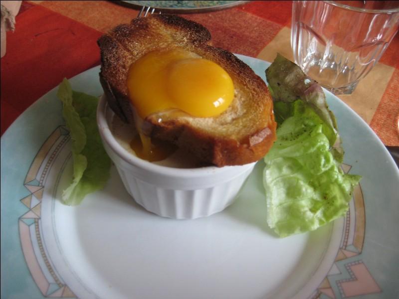 Quel est ce met à base de lard fumé, d'aubergine, d'oignon, de pain de campagne, d'huile d'olive, de bouillon de poule et d' oeufs, le tout cuit au four?