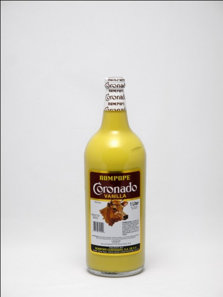 De quel pays est originaire la liqueur Rompope qui est à base de vanille, d'amande, de lait de vache et de jaune d'oeufs ?