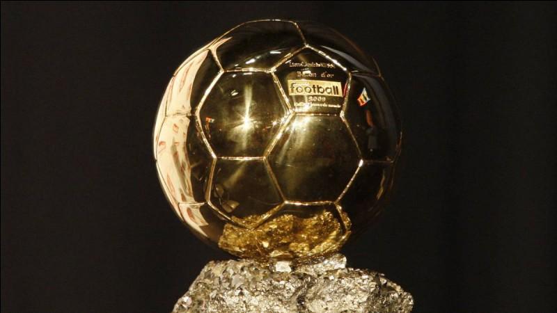 Quel gardien a remporté le Ballon d'Or ?