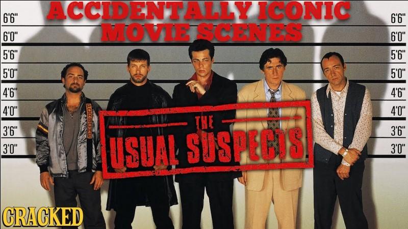 """""""Usual Suspects"""" est un long-métrage interprété par Kevin Spacey."""