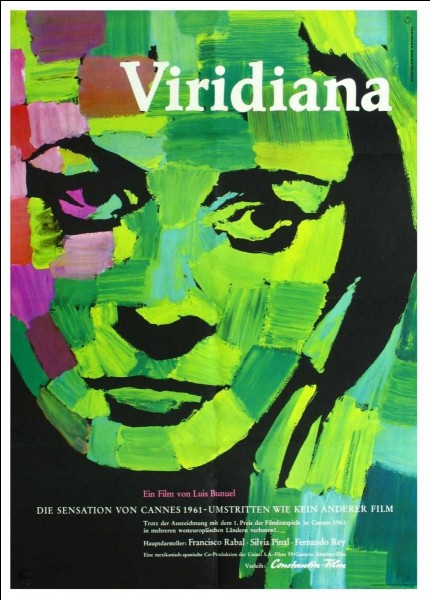 """""""Viridiana"""" est un film mis en scène par Luis Bunuel."""