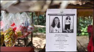 En Malaisie, le corps d'une jeune Franco-Irlandaise a été retrouvée ; comment se nomme-t-elle ?