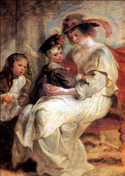 """Quel peintre du XVIIe a peint le tableau """"Hélène Fourment et ses deux enfants"""" ?"""