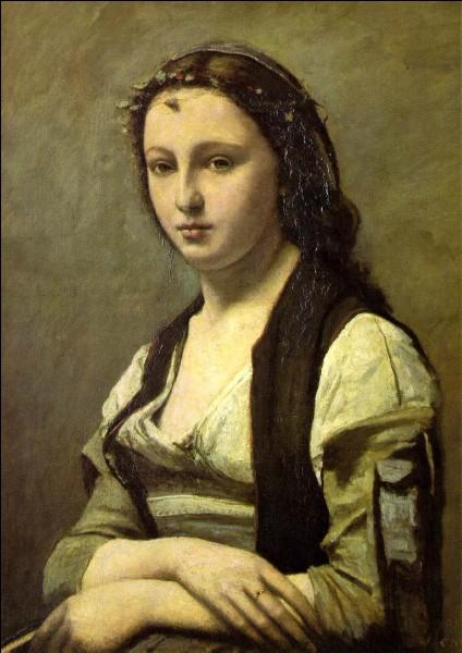 """""""La femme à la perle"""" est l'œuvre de ..."""