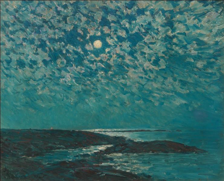"""Quel impressionniste américain a peint le tableau """"Clair de lune"""" ?"""