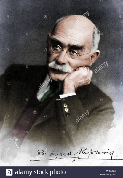 Quelle récompense Rudyard Kipling a-t-il été le premier britannique à recevoir ?