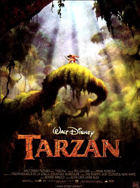 """Dans quel pays se déroule l'histoire de """"Tarzan"""" ?"""