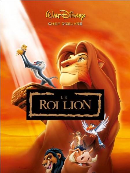 """Dans quel pays se déroule l'histoire du """"Roi lion"""" ?"""