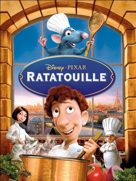 """Dans quel pays se déroule l'histoire de """"Ratatouille"""" ?"""