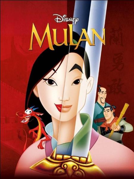 Dans quel pays se déroule l'histoire de Mulan ?