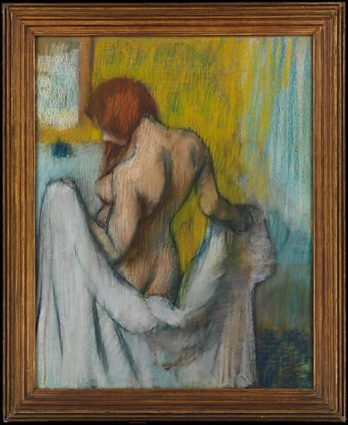 """Qui est le peintre de """"La Femme à la serviette"""" ?"""