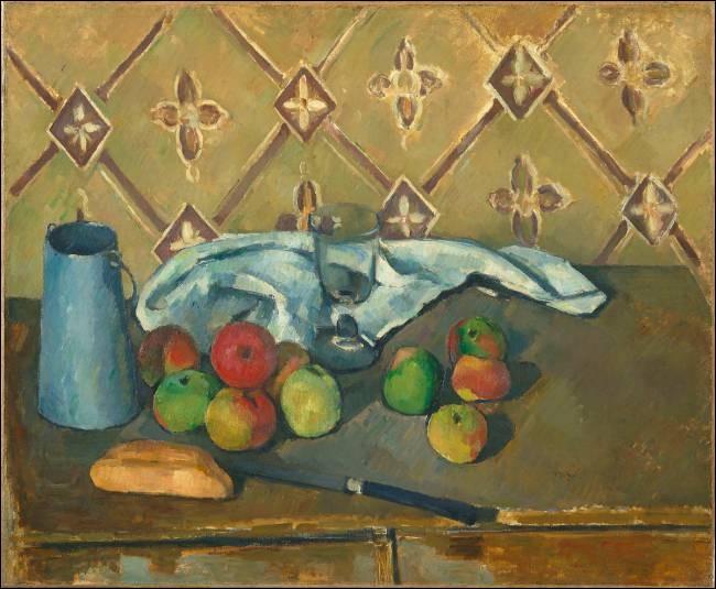 """Qui a réalisé le tableau """"Fruits, serviette et boîte à lait"""" ?"""