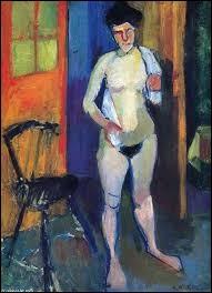 """Qui a réalisé la toile intitulée """"Nue avec une serviette blanche"""" ?"""