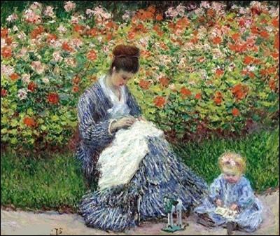 Qui a représenté son épouse sur cette toile ?