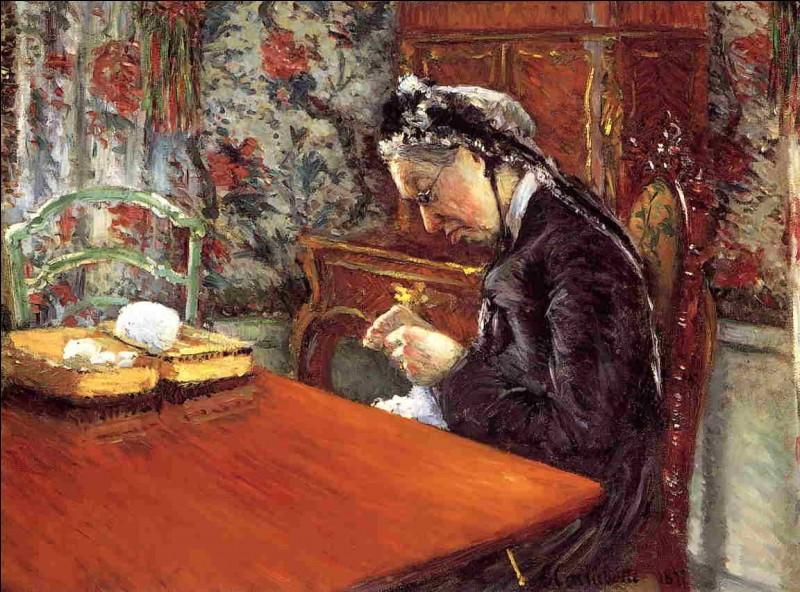 """Qui a fait le """"Portrait de mademoiselle Boissières, au tricot"""" ?"""
