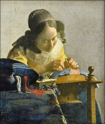 """Qui est l'auteur de la célèbre toile """"La Dentellière"""" ?"""