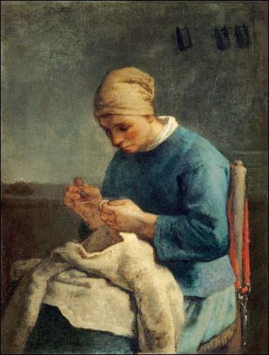 """Qui a peint """"La Couseuse"""" ?"""