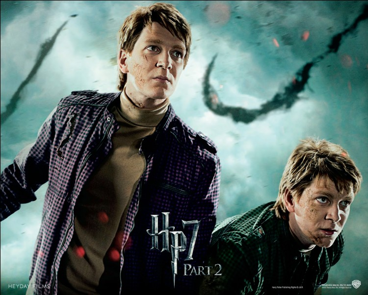 Qui interprète Fred Weasley ?