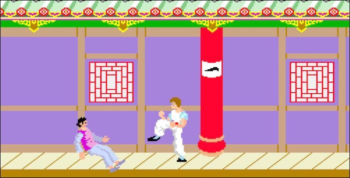 """Dans """"Kung Fu Master"""", quelle est l'arme du dernier boss final du 5e étage ?"""