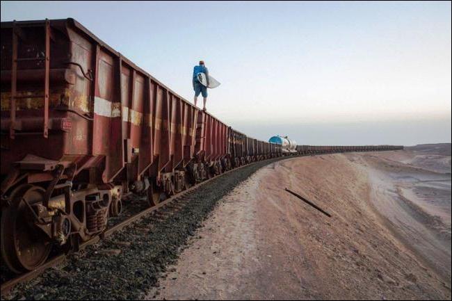 D'après vous, où peut-on rencontrer le train de fret le plus long du monde ?