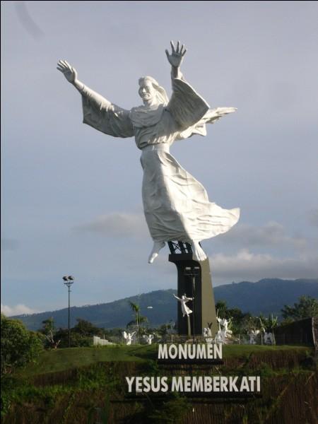 Où se trouve le Christ de Manado ?