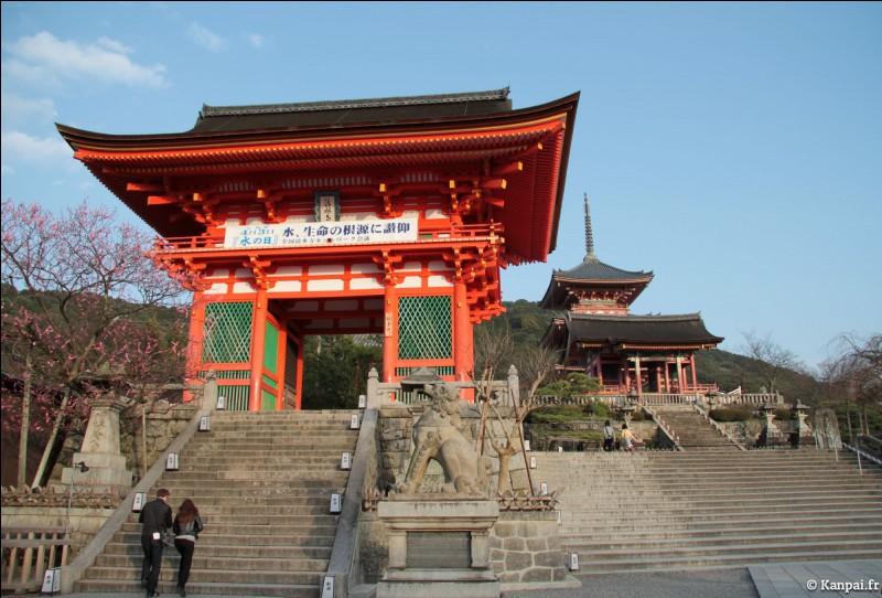 Dans quel pays se trouve le temple Kiyomizu-dera ?