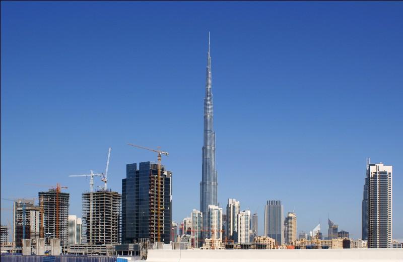 Où se trouve le Burj Khalifa ?