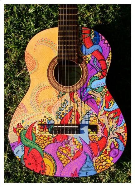"""Dans quelle chanson de Cabrel entend-on """"Elle mène sa vie en couleur, elle collectionne les couleurs de l'automne"""" ?"""