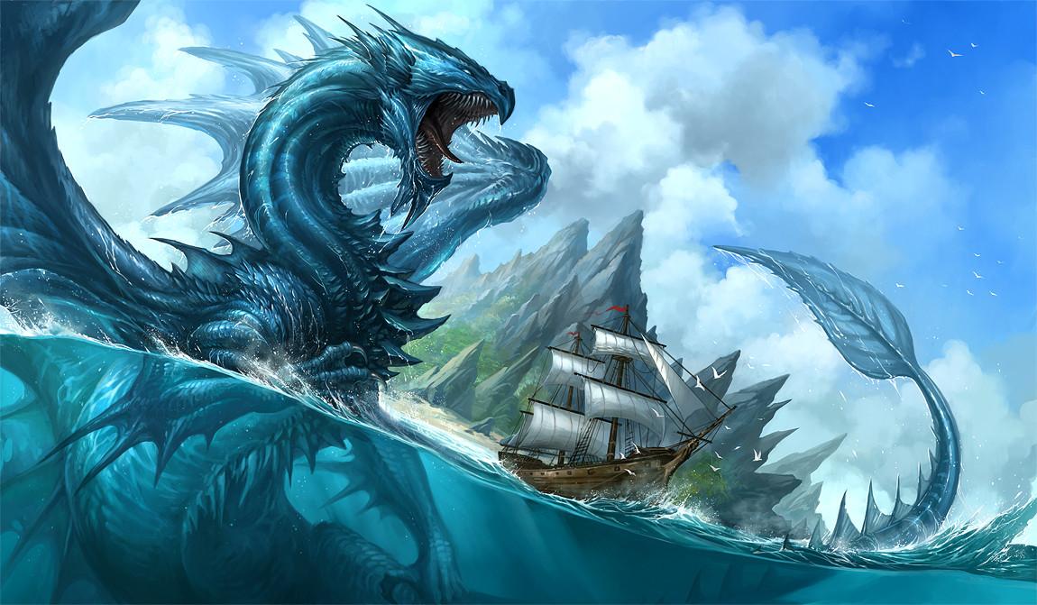 Quelle est ta créature imaginaire aquatique ?