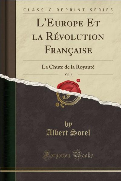 4e - En quelle année la Révolution française s'est-elle déroulée ?