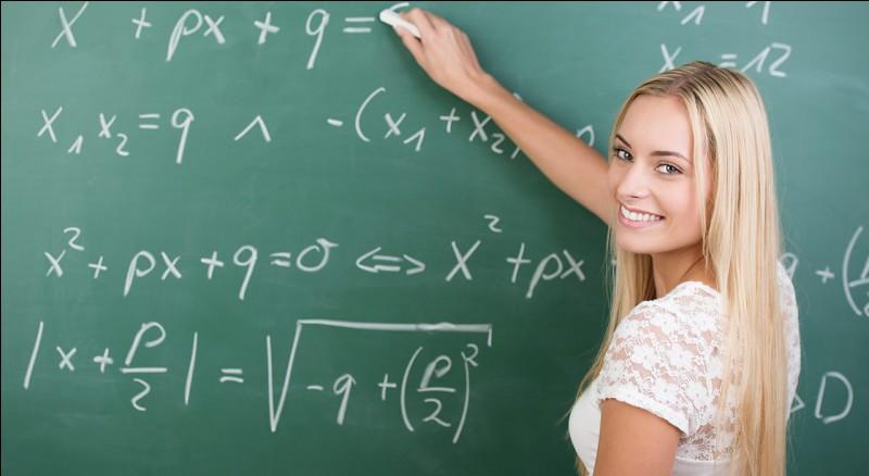 4e - Laquelle de ces équations est une équation du deuxième degré (impossible à résoudre à ce niveau) ?