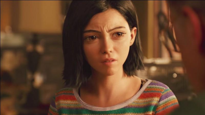 Ce personnage va se balader à Iron City et soudain elle va rencontrer un animal qui va devenir son ami. Que est cet animal ?