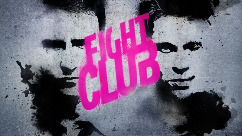 """""""Fight Club"""" est un film joué par Brad Pitt."""