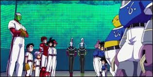 Dans l'épisode 70, Champa a lancé un défi à Beerus, qui est de jouer au foot !