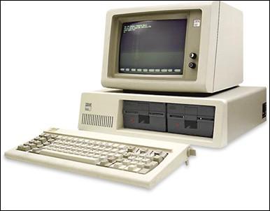 En quelle année est apparu le premier ordinateur ?