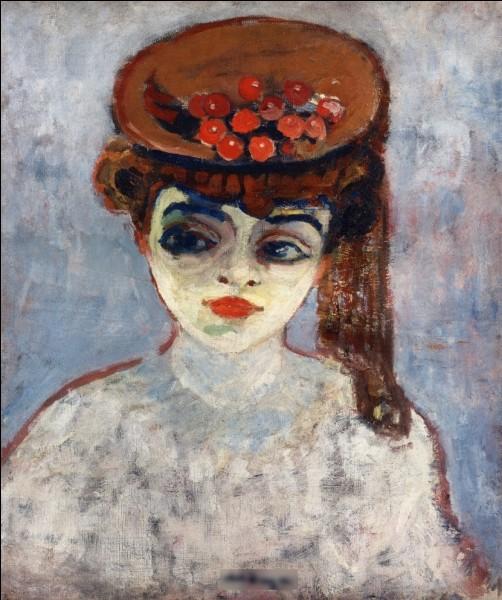 """Quel peintre du début XXe a réalisé le tableau """"Le chapeau de cerise"""" ?"""