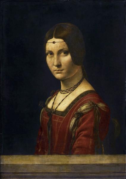 """Quel artiste italien de la Renaissance a peint """"La Belle Ferronnière """" ?"""