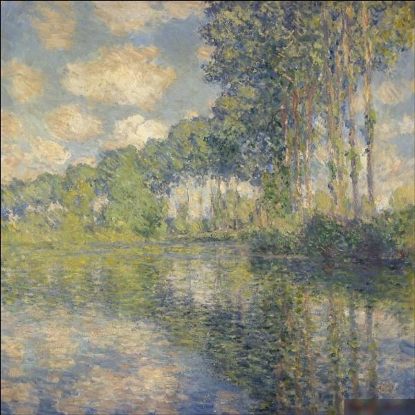 """Quel peintre est l'auteur du tableau """"Peupliers sur la berge"""" ?"""