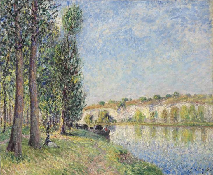 """Quel impressionniste est l'auteur du tableau """"Le loing à Moret"""" ?"""