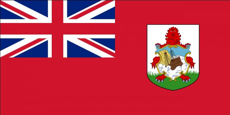 """Quel est le chef-lieu du territoire arborant ce drapeau, cette fois basé sur le """"Red Ensign"""" ?"""