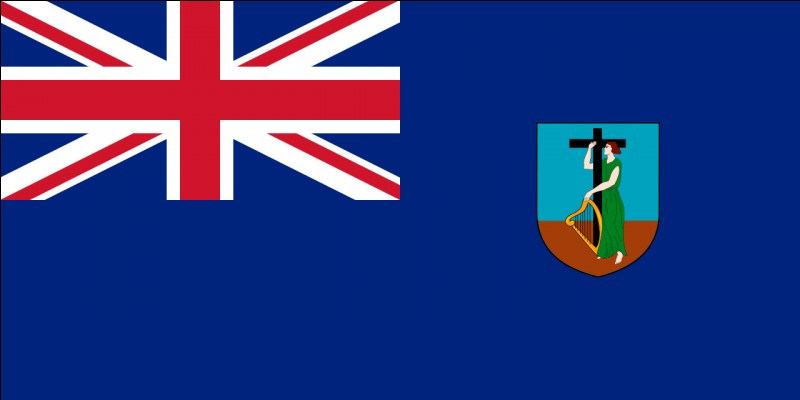 """A quel territoire appartient donc ce drapeau basé comme tant d'autres, sur le """"Blue Ensign"""" britannique ?"""