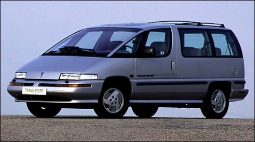 General Motors a développé une famille nombreuse pour les familles nombreuses. Chevrolet Lumina APV, Pontiac Trans Sport et..