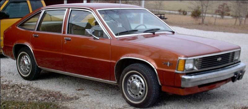Berline compacte à hayon sortie en 1980, la première Chevrolet à roues avant motrices fut la..