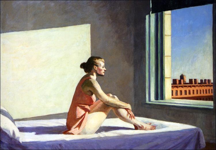"""De quel peintre américain du XXe est le tableau """"Soleil du matin"""" ?"""